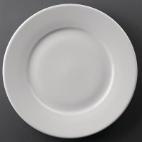 Athena Hotelware Wide Rimmed Plate 254mm ( Box 12)