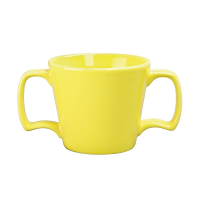 Olympia Heritage Yellow Double Handled Mug - 10oz (Box 6)