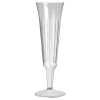 Plastico Disposable Champagne Flutes (Pack 10)