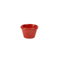 Ramekin 1.5oz Smooth Red