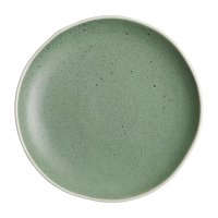 "Olympia Chia Green Plate 205mm 8"" (Box 6)"