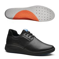 WearerTech Relieve Shoe Black with Firm Insoles