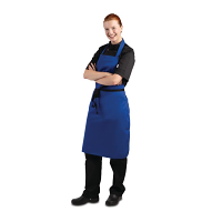 Bib Apron (Royal Blue)
