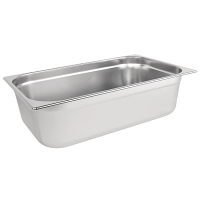 Stainless Steel Gastronorm Pan - 1/1 Full Size 150mm deep