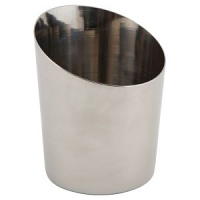 Stainless Steel Angled Cone 9.5 x 11.6cm (Dia x H)