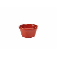 Ramekin 3oz Smooth Red