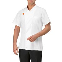 Giblor Giorgio Jacket Short Sleeve White