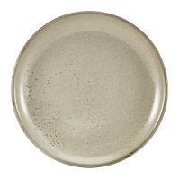 Terra Porcelain Grey Coupe Plate 24cm