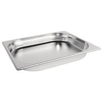 Stainless Steel Gastronorm Pan - 1/2 Size 40mm deep