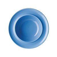"Olympia Heritage Blue Raised Rim Bowl 8"" 205mm (Box 4)"