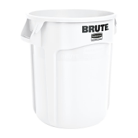 Rubbermaid Round Brute Container White 75.7Ltr