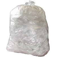 Jantex Heavy Duty Clear Bin Bags (200pc)