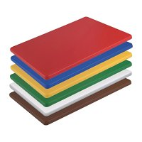 Hygiplas Low Density Small Chopping Boards - 300x225xx10mm (Set 6)