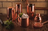 Copper Cocktail Strainer