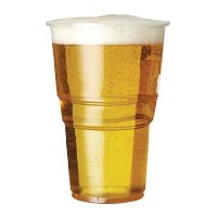 Plastico Premium Pint Glass CE Marked (1000 Per Case)
