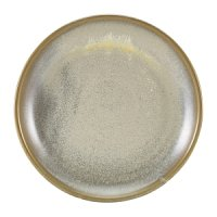 Terra Porcelain Matt Grey Coupe Plate 19cm