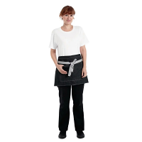 Whites Southside Waist Apron Denim Black 760mm