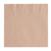 Compostable Lunch Napkins Unbleached 330mm (Case 2000)