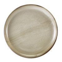 Terra Porcelain Grey Coupe Plate 27.5cm