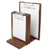 Wooden Menu Presentation Clipboard A4