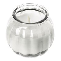 Olympia Pumpkin Jar Candle Clear