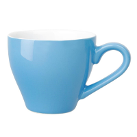 Olympia Cafe Espresso Cup Blue - 100ml 3.5oz (Box 12)