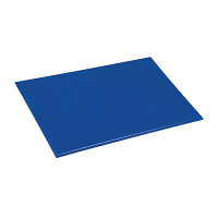 Hygiplas Anti-bacterial Low Density Chopping Board Blue - 450x300x12mm
