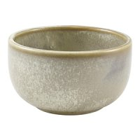 Terra Porcelain Matt Grey Round Bowl 12.5cm
