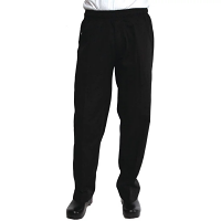Chef Works Unisex Better Built Baggy Chef Trousers Black