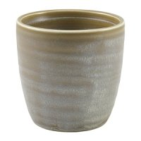 Terra Porcelain Matt Grey Chip Cup 32cl/11.25oz