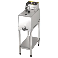 Buffalo Single Fryer with Stand 8Ltr