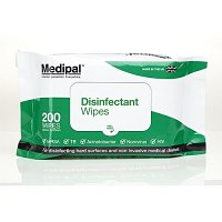 Medipal Healthcare Disinfectant Wipes Soft Pack Pack of 200