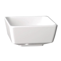 APS Float White Square Bowl 5in