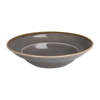 "Olympia Kiln Smoke Pasta Bowl 9 3/4"" 250x58(H)mm 340ml 12oz (Box 4)"