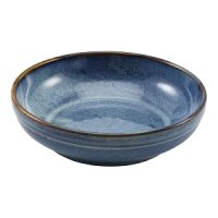 Terra Porcelain Aqua Blue Coupe Bowl 20cm
