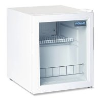 Polar REFRIGERATED Countertop Glass Door Display Drinks Chiller - White