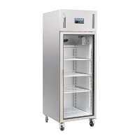 Polar Upright Glass Door Gastro Refrigerator 600Ltr