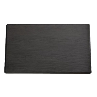 Melamine Slate Effect Display Platter - GN 1/4