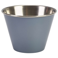 12oz Stainless Steel Ramekin Grey