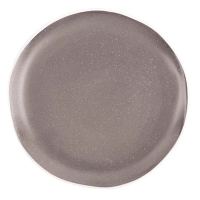 "Olympia Chia Charcoal Plate 205mm 8"" (Box 6)"