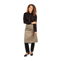 Whites Regular Bistro Apron Olive - 1000x700mm 39.4x27.5""
