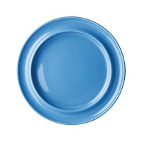 "Olympia Heritage Blue Raised Rim Plate 10"" 253mm (Box 4)"
