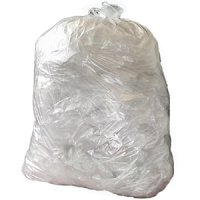 Jantex Medium Duty Clear Bin Bags 80Ltr (200pc)