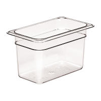 Cambro Polycarbonate 1/4 Gastronorm Pan 150mm