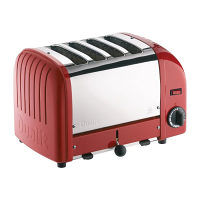 Dualit Vario Toaster 4 Slot Red