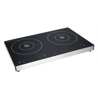 Caterlite Touch Control Double Induction Hob - 3Kw