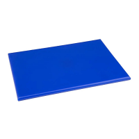 Hygiplas High Density Chopping Board Small Blue - 229x305x12mm