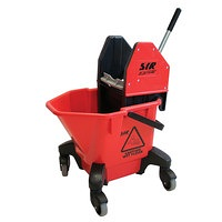 SYR Mop Bucket & Wringer Set  Red