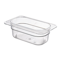 Cambro Polycarbonate 1/9 Gastronorm Pan 65mm