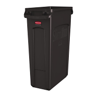 Rubbermaid SLIM JIM CONTAINER WITH VENTING CHANNELS 87L